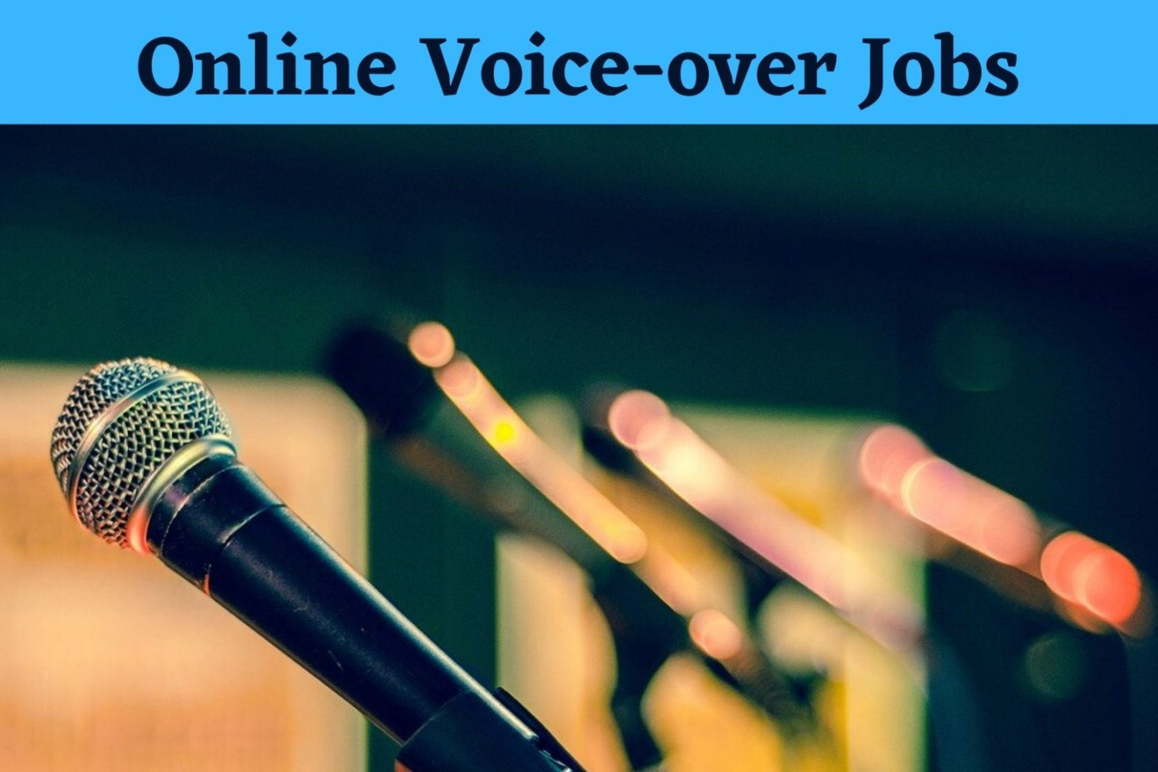How To Become A Voiceover Artist ( 5 Sites For Voice Actors )