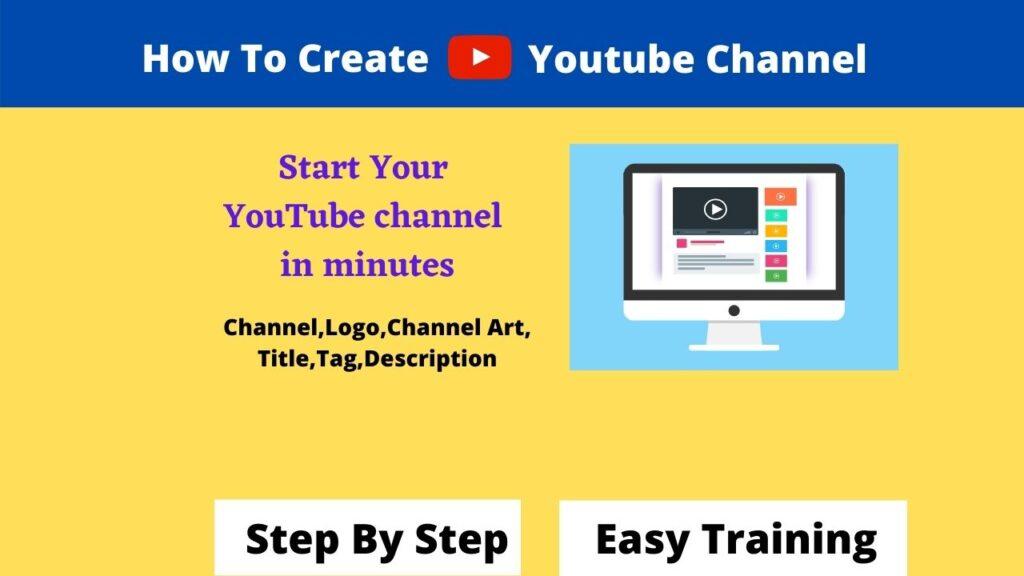 How To Create YouTube Channel नया यूट्यूब चैनल कैसे बनायें